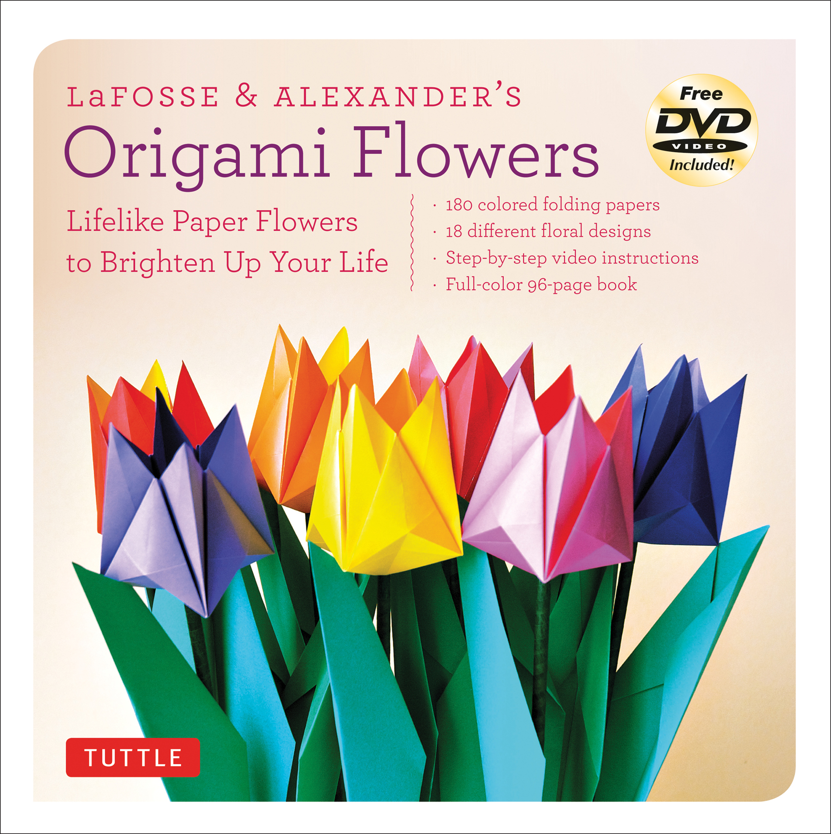 Lafosse alexanders origami flowers kit videos and pdf 9780804843126g mightylinksfo